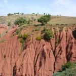 Environs de Chaabt : La vallée rouge