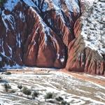 Moyen-Atlas Vallée Rouge sous la neige
