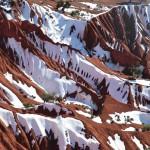 Vallée Rouge sous la neige