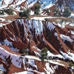Moye-Atlas - Valléé Rouge sous la neige