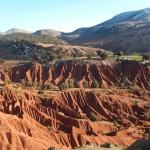 Moyen-Atlas - La Vallée Rouge sous la neige