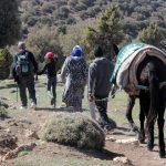 randonnées à Chaabt, Moyen Atlas