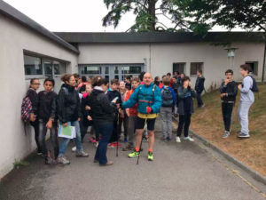 Marche parrainée « solidaire » au Collège de Canteleu
