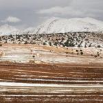 paysage enneigé et Tichoukt